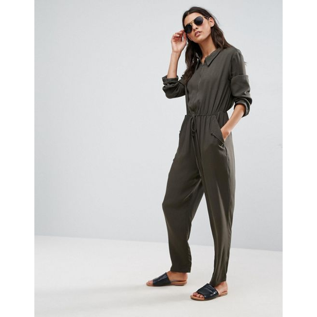e4b00a6bb040 ASOS Utility Jumpsuit with Zip Front - Amaliah