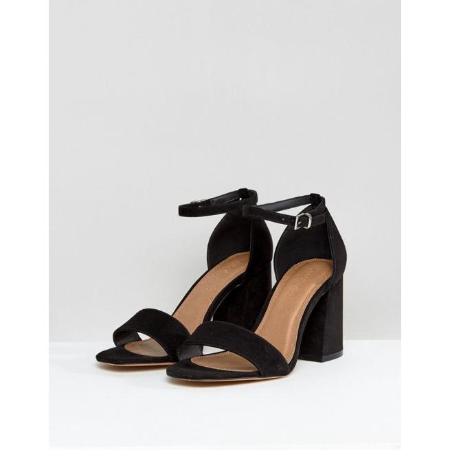 944c465dcf7 ASOS HEARTACHE Wide Fit Heeled Sandals - Amaliah