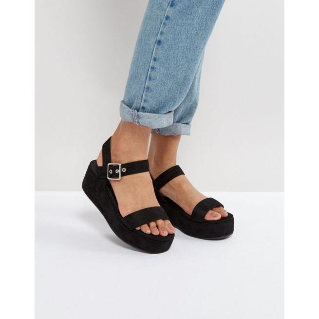 83a3627fae45 ASOS TOUCAN Wedge Sandals - Amaliah