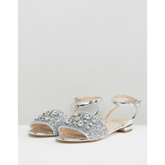 df052c613eb ASOS FOUR SEASONS Embellished Flat Sandals - Amaliah
