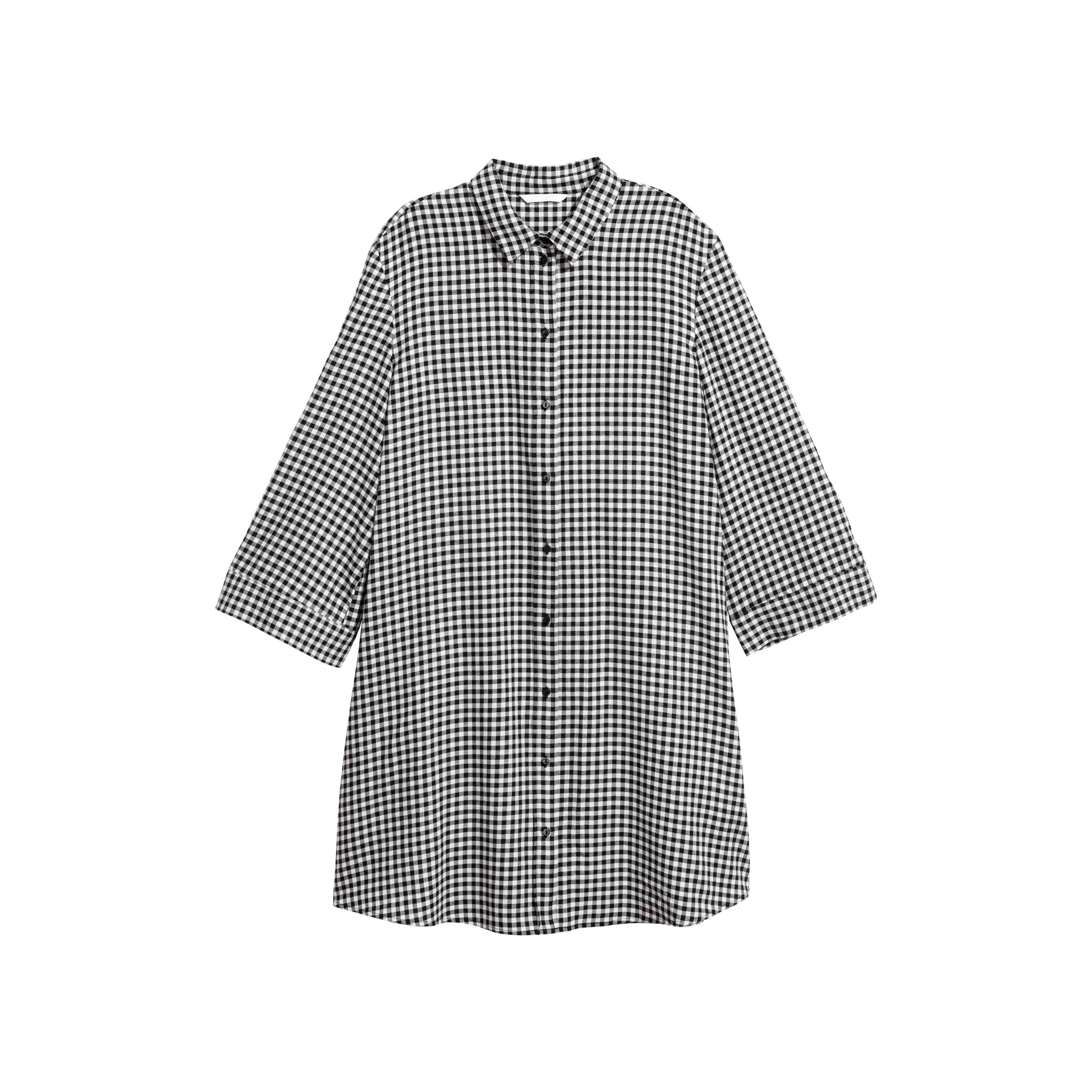 b92a12b742d Womens Black And White Checkered Shirts - Cotswold Hire