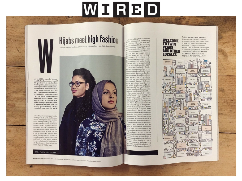 Featured in April's WIRED