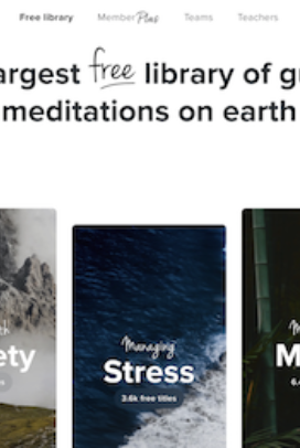 Insight Timer App is a life-saver for me and has guided meditations, talks and soundscapes you can search by topic, key word or duration. They have lovely meditations for children too.