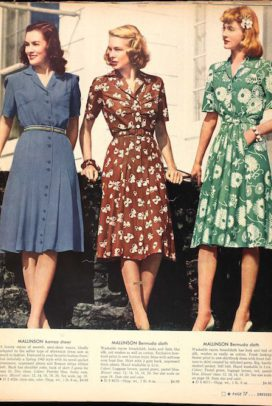 Vintage housedresses (I already have a collection but I have been ordering more on etsy)