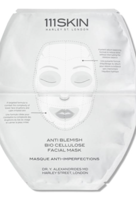 I'm doing tons of 111skin Masks, Bio Cellulose face mask layered with black diamond eye masks is my usual