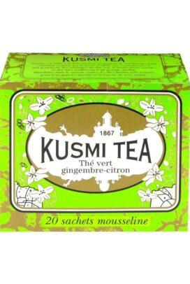 Green Ginger Lemon Tea