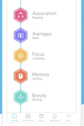 An app to keep the mind busy and active.