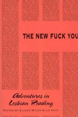 The New Fuck You, Adventures in Lesbian Reading