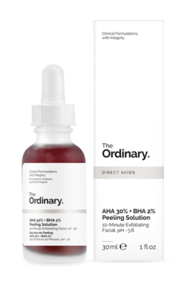 I just ordered The Ordinary AHA 30% + BHA 2% peeling solution facemask and am very excited and only a little afraid to try it. The anticipation for its arrival is keeping quarantine interesting though.