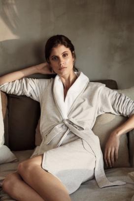 Double-Cotton Robe