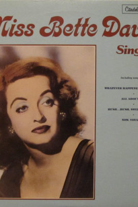 Miss Bette Davis Sings!