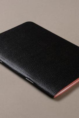 Black Medium Notebook