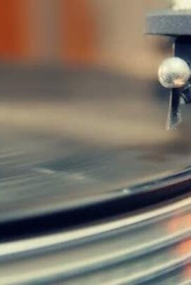 Listening to records in the evening