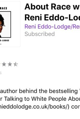 About Race with Reni Eddo Lodge