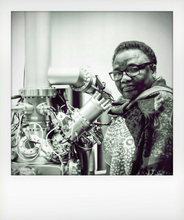The Scientists - Professor Tebello Nyokong on Violet Book Online (en-GB)