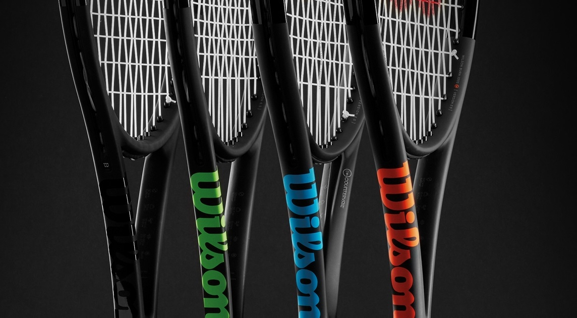 Product Of The Month Wilson Black Edition Tennis Collection
