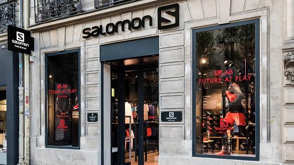 Amer Sports Salomon retail design | ESPOWORKR