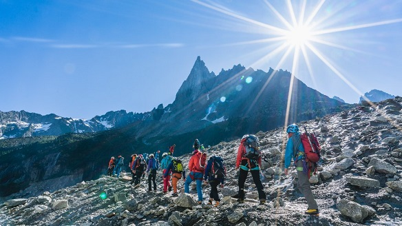 2018 Arc'teryx Alpine Academy - 4 days, 410 alpine participants, 110 mountain guides, 34 world-class athletes