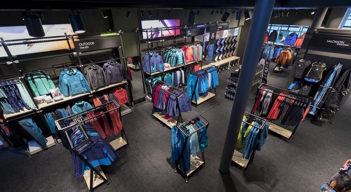 cheap for discount 537d2 01eba Re-opened Salomon brand store in Sölden welcomes season ...