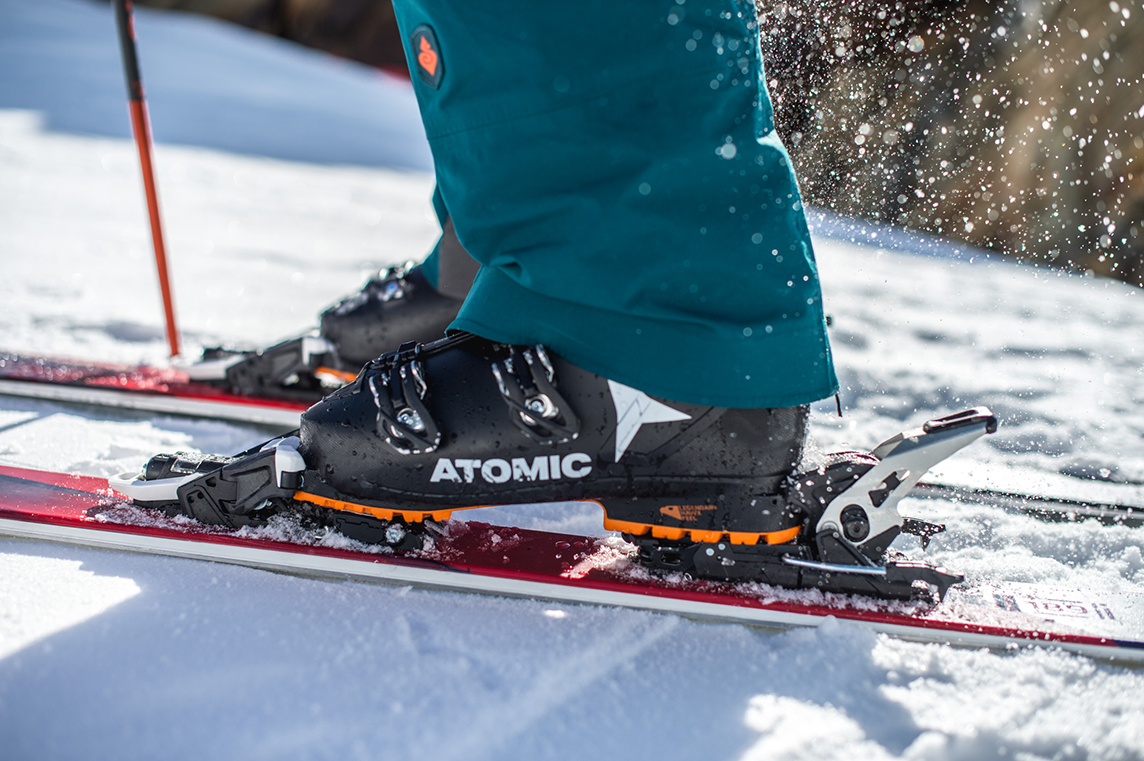 8754fb9dcb1 The long toe wings offer top of the line energy transfer and elasticity. The  heel piece is similar as in alpine bindings