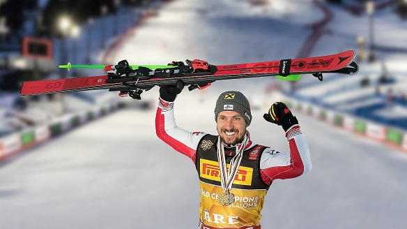 Atomic racing team rocked the Alpine World Ski Championships