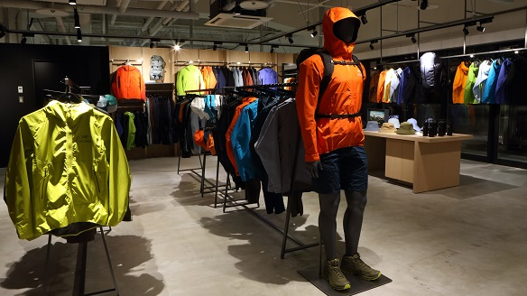 Arc'teryx opens a brand store in Sapporo, Japan