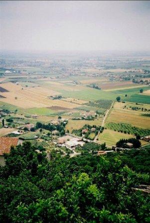 Figure 2 agro pontino from sermoneta