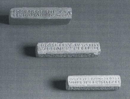 Figure 11 les 3 cachets de berne