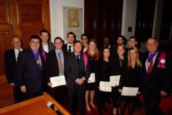 Les laureats et le bureau-web