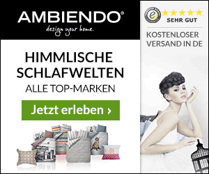 5€ Gutschein bei Ambiendo.de