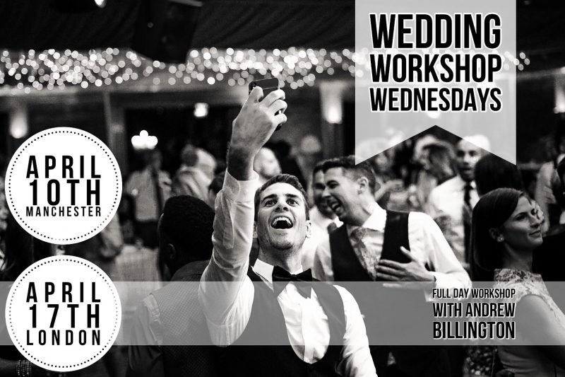 Wedding Photography workshops and training UK