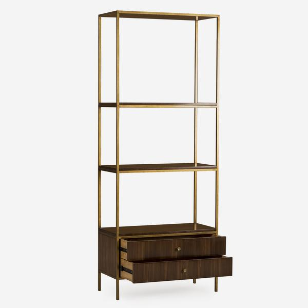Rufus_Bookcase_Open_Drawers_BC0012_