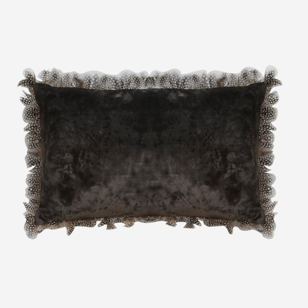 Vince_Charcoal_Cushion_with_Guinea_Feather_Cushion_ACC2697_