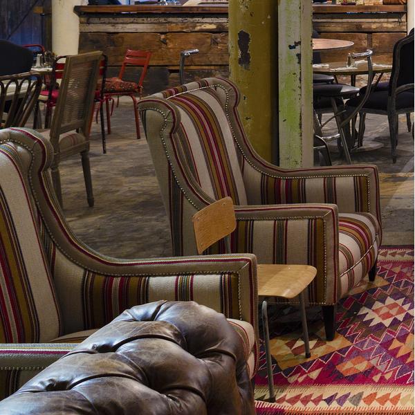 Chinook_Multi_fabric_upholstered_on_Venus_Chairs