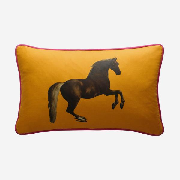 national_gallery_whistlejacket_orange_cushion_front_ACC2745_
