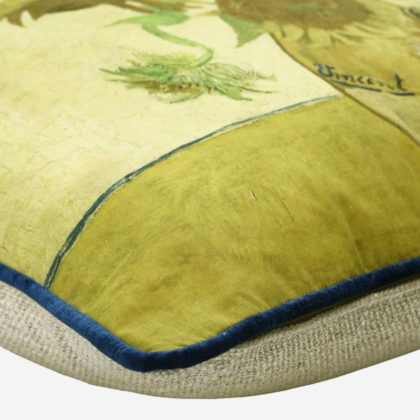 National_Gallery_Van_Gogh_Sunflowers_Cushion_Piping_Detail