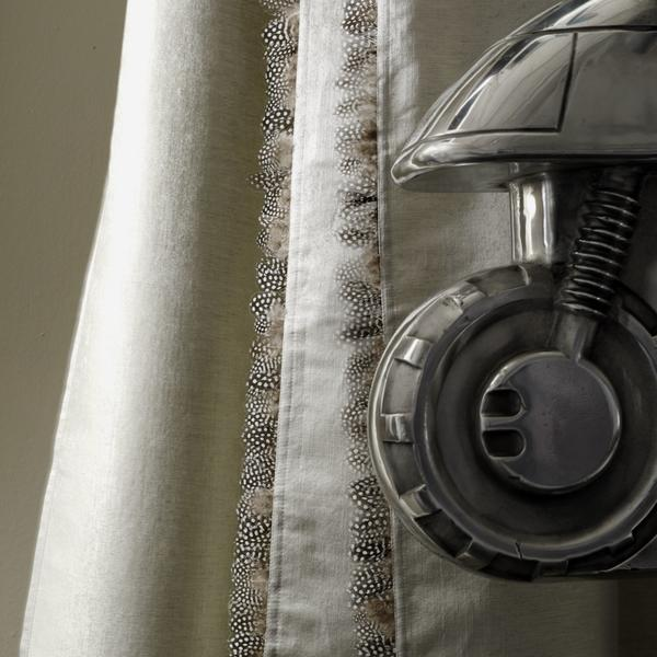 Vibe_Silver_fabric_trimmed_in_Feather_Guinea_trim