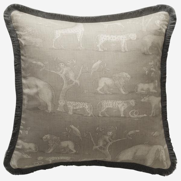 Kingdom_Canvas_Cushion_with_Charcoal_White_Linen_Fringe_Trim