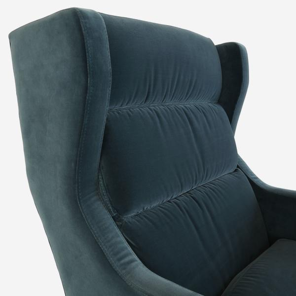 HalstonPetrol_chair_wing_detail