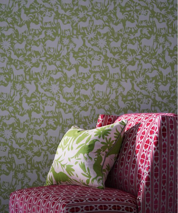 Otomi_Cactus_Wallpaper_triton_chair_in_Pelican_Paradise_and_scatter_in_Maya_Cactus
