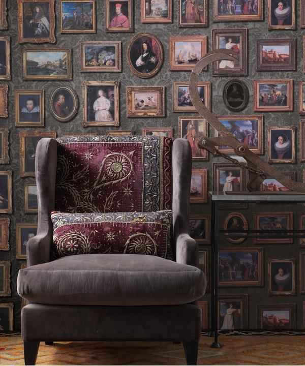 andrew_martin_museum_wallpaper_gallery_charcoal_wallpaper