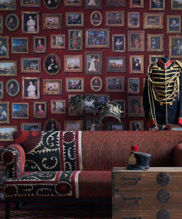 andrew_martin_museum_wallpaper_gallery_red_wallpaper