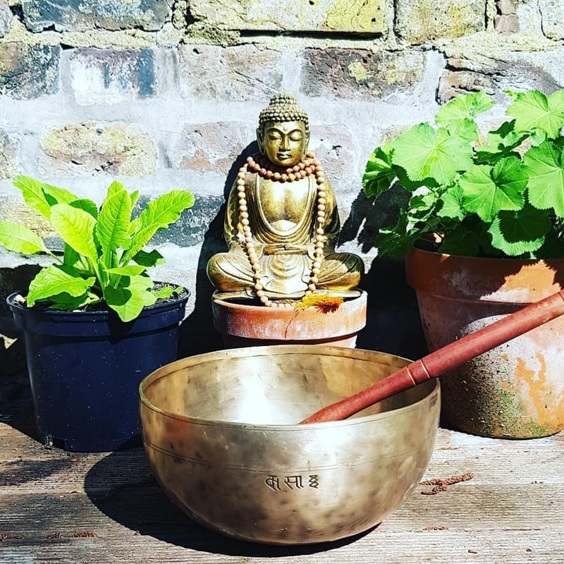 Tibetan Bowl Massage and Bath combination