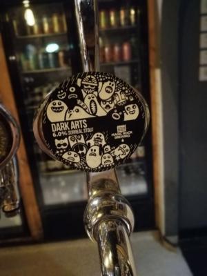 Magic Rock - Dark Arts Surreal Stout 6%ABV on keg in the Ocean State Tavern