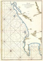 The Three states of MMannevillette's Chart of the Cape of Good Hope