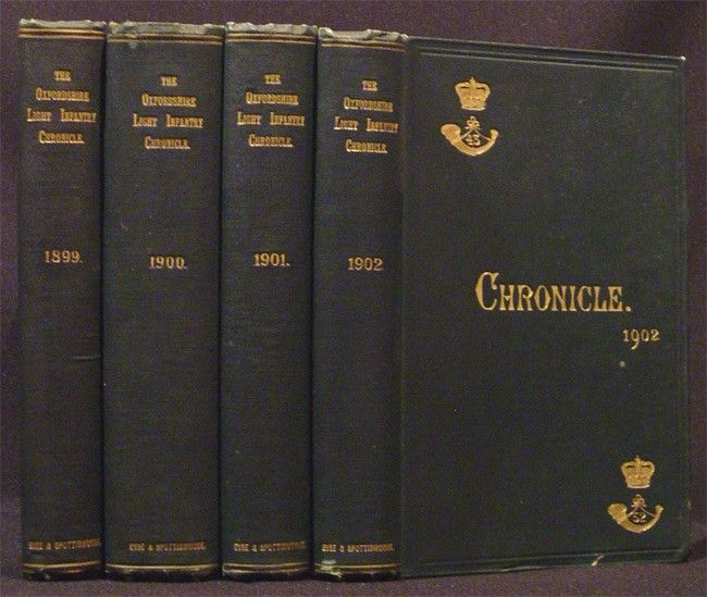 THE OXFORDSHIRE LIGHT INFANTRY CHRONICLE