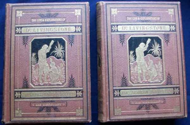 The Life & Explorations of Dr.Livingstone-The African Traveller and Missionary-2 Volumes