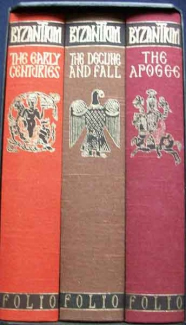 BYZANTIUM: Three Volumes-Boxed Set