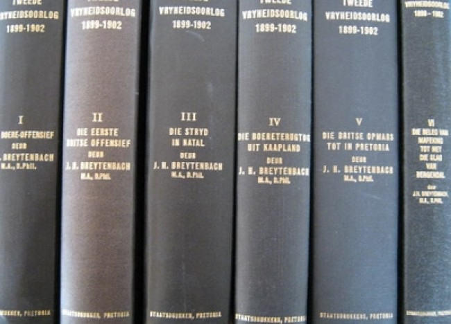 Geskiedenis van die Tweede Vryheidsoorlog 1899-1902 (vols 1-6; 1969 -1996)