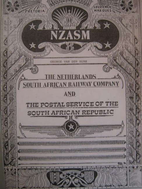 The Netherlands South African Railway Company and the Postal Service of the South African Republic (1884-1902)